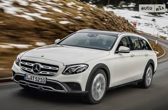 Mercedes-Benz E-Class All-Terrain E 400d G-tronic (340 л.с.) 4Matic 2018