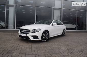 Mercedes-Benz E-Class 180 AT (156 л.с.) 2018