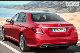 Mercedes-Benz E-Class New E 220d AT (194 л.с.) 2019