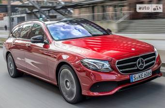 Mercedes-Benz E-Class E 220d AT (194 л.с)  2019