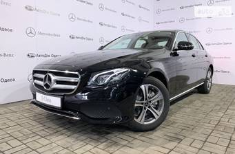 Mercedes-Benz E-Class New E 200 AT (184 л.с.) 2018