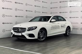 Mercedes-Benz E-Class New E 220d (195 л.с.) 4Matic 2019