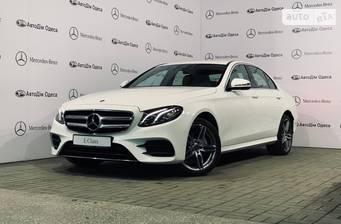 Mercedes-Benz E-Class New E 220d AT (194 л.с.) 2018
