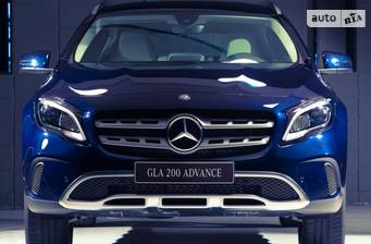 Mercedes-Benz GLA-Class GLA 180 AT (122 л.с.) 2018