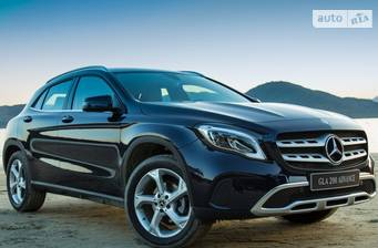 Mercedes-Benz GLA-Class GLA 180 AT (122 л.с.) 2018