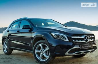 Mercedes-Benz GLA-Class GLA 200d AT (136 л.с.) 4Matic 2018