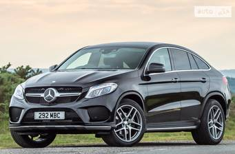 Mercedes-Benz GLE-Class GLE Coupe 350d AT (258 л.с.) 4Matic 2019