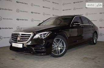 Mercedes-Benz S-Class S 400d AT (340 л.с.) 4Matic Long 2018