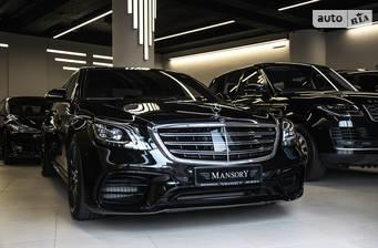 Mercedes-Benz S-Class Mercedes-AMG S 63 AT (612 л.с.) 4Matic Long 2018