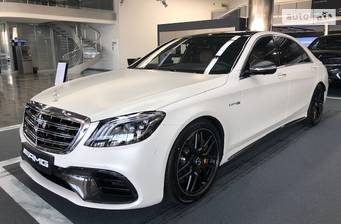 Mercedes-Benz S-Class Mercedes-AMG S 63 AT (612 л.с.) 4Matic Long 2018