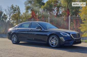 Mercedes-Benz S-Class S 350d AT (286 л.с.) 4Matc Long 2019