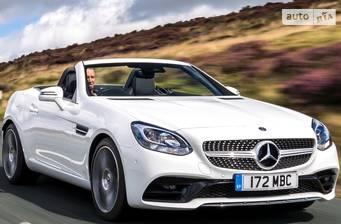 Mercedes-Benz SLC-Class SLC 180 MT (156 л.с.) 2017