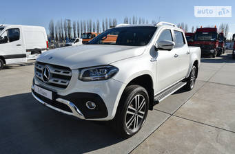 Mercedes-Benz X-Class x350d AT (258 л.с.) 4Matic 2018