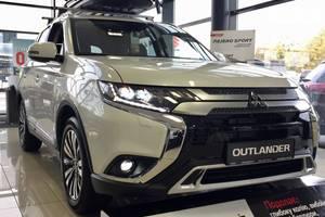 Mitsubishi Outlander 2.4 CVT (167 л.с.) 4WD 7s Instyle 2020