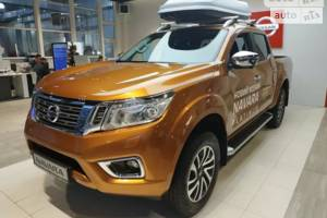 Nissan Navara 2.3 dCi AT (190 л.с.) 4WD Platinum 2019