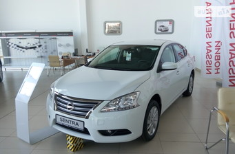 Nissan Sentra 1.6 CVT (117 л.с.) Elegance Plus Connect 2016