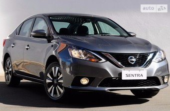 Nissan Sentra 1.6 CVT (117 л.с.) Elegance Connect 2016