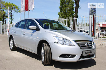 Nissan Sentra 1.6 MT (117 л.с.) Elegance Connect 2015