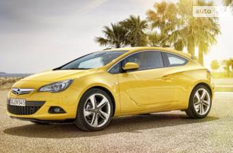 Opel Astra J GTC 1.4 MT (140 л.с.) Start/Stop 2017