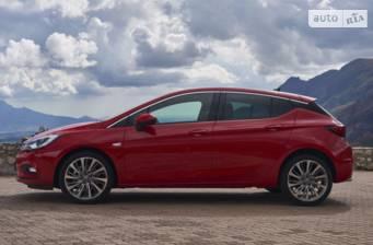 Opel Astra K 1.4 MT (125 л.с.) 2017