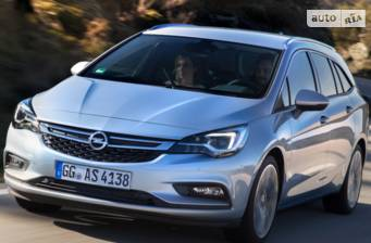 Opel Astra K 1.0 MTA (105 л.с.) Start/Stop 2017