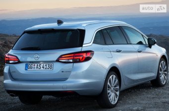 Opel Astra K 1.6D AT (136 л.с.)  Dynamic 2017