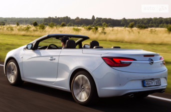 Opel Cascada 1.6 AT (170 л.с.) Cabriolet 2017