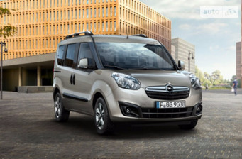 Opel Combo пасс. 1.6D MT (105 л.с.) L1H1 Increased 2017