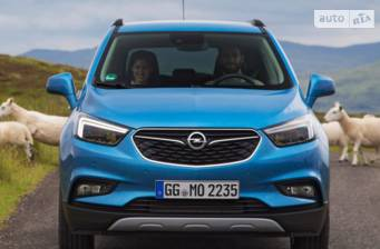 Opel Mokka X 1.4 AТ (140 л.с.) 2017