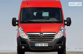 Opel Movano груз. Crew Van 2.3TD МТ (145 л.с.) Start/Stop L1H1 3300 FWD   2017