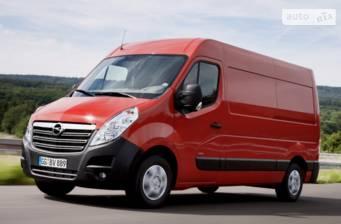 Opel Movano груз. Crew Van 2.3TD МТ (110 л.с.) Start/Stop L1H2 3300 FWD  2017