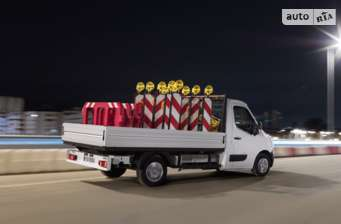 Opel Movano груз. Chassis Cab Dropside 2.3TD МТ (170 л.с.) Start/Stop L3H1 3500 FWD   2017