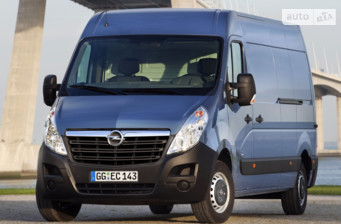 Opel Movano груз. 2.3TD МТ (163 л.с.) Start/Stop L3H3 3500 FWD   2017