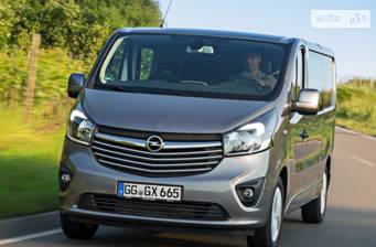 Opel Vivaro груз. Crew Van 1.6D MT (95 л.с.) L2H1 2.9 2017