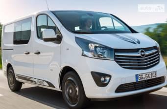 Opel Vivaro груз. Crew Van 1.6D MT (90 л.с.)  L1H1 2.9T 2017