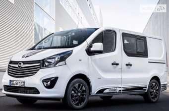 Opel Vivaro груз. Crew Van 1.6D MT (120 л.с.)  L1H1 2.7T Start/Stop  2017