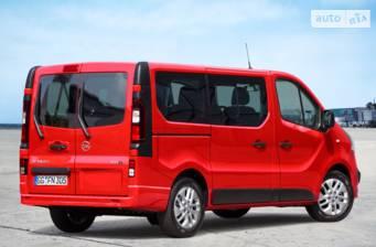 Opel Vivaro пасс. 1.6D МТ (95 л.с.) L1H1 2.7T Start/Stop 2017