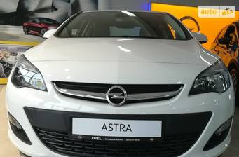 Opel Astra J 1.4Т АТ (140 л.с.) 2020