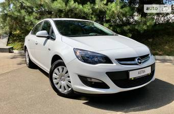 Opel Astra J 1.4Т МТ (140 л.с.) 2020