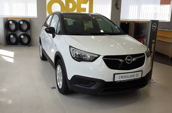 Opel Crossland X 1.2T AT (110 л.с.) 2019