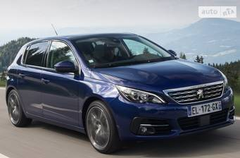 Peugeot 308 New 1.6 BlueHdi АТ (120 л.с.) Start/Stop 2018