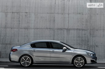 Peugeot 508 New 2.0 BlueHDi AT (180 л.с.) Start/Stop Allure 2017