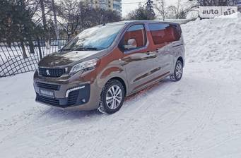 Peugeot Traveller 2.0 BlueHDi AT (180 л.с.) L2 2021