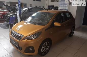 Peugeot 108 1.0 VTi AT (68 л.с.) 2017