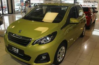 Peugeot 108 1.0 VTi AT (72 л.с.) 2018