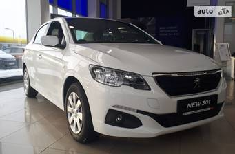 Peugeot 301 New 1.6 AT (115 л.с.) 2019