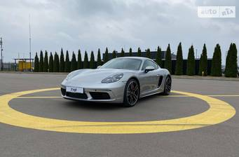 Porsche Cayman 718 S 2.5 AT (350 л.с.) 2021