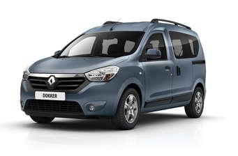 Renault Dokker пасс. 1.5D МТ (90 л.с.) Authentique 2018