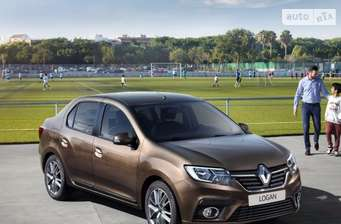 Renault Logan New 1.0 MT (73 л.с.) Life+ 2018