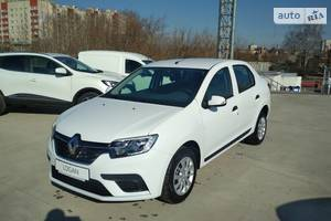 Renault Logan New 1.0 MT (73 л.с.) Life+ 2019